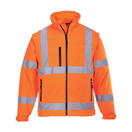 Blouson HiVis Softshell (3 couches) - Portwest