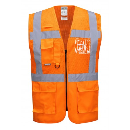 Gilet exécutive maille Madrid - Portwest