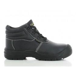 Chaussure de sécurité en cuir mi-haute S1P SafetyBoy