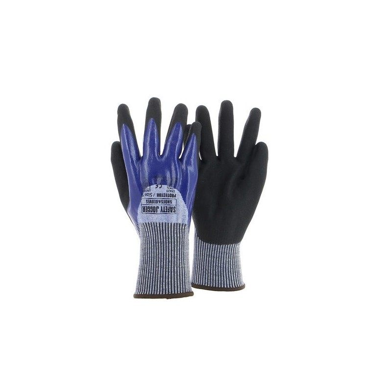 Gants nitrile anti-coupures PROTECTOR - SAFETY JOGGER