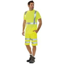 T-shirt manches courtes haute visibilté homme Light - LAFONT