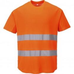 Tee-shirt Haute-Visibilité aéré manches courtes