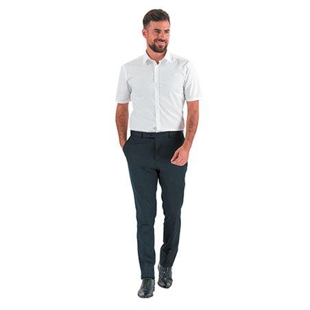 Chemise de travail manches courtes homme CAPUCCINO - Lafont