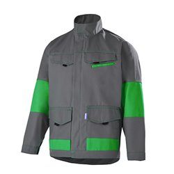 Blouson de travail contrasté polyester FACITY- CEPOVETT SAFEFTY
