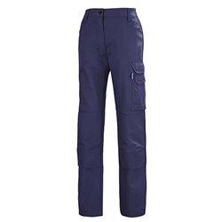 Pantalon de travail femme avec genouillères KROSS LINE - CEPOVETT SAFEFTY