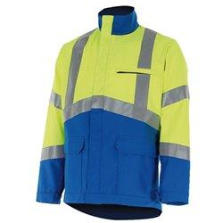 Blouson de travail haute visibilité FLUO SAFE - CEPOVETT SAFEFTY