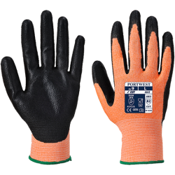 Gants mousse Nitrile Ambre coupure 3 - Portwest