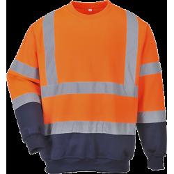 Sweatshirt bicolore HiVis - Portwest