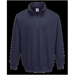 Sweatshirt col zippé Sorrento - Portwest
