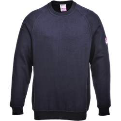 sweet shirt retardateur de flamme & Antistatique Sweat-shirt manches longues - Portwest