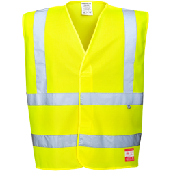 Gilet HV antistatique et flamme résistant - Portwest