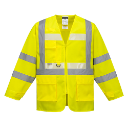 Gilet avec manches Executive Glowtex - Portwest