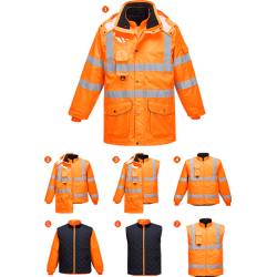 Parka Traffic HV 7-en-1 RIS - Portwest
