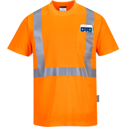 T-Shirt Hi-Vis Pocket - Portwest
